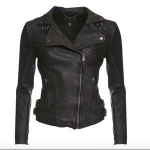 MUUBAA Reval Black Leather Jacket 2
